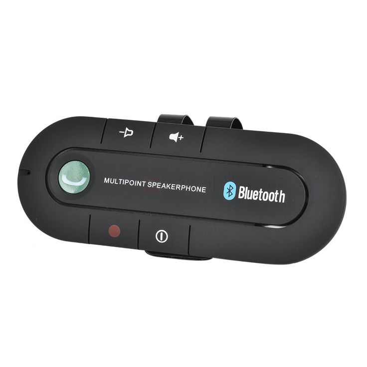Smart Hands-Free Bluetooth Car Kit Music Receiver, Use the Smart Hands-Free Bluetooth Car Kit to make hands-free calls while you are on the road.