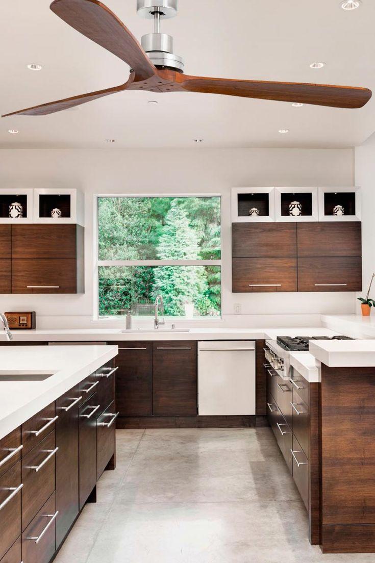 123 best ventiladores de techo sin luz images on pinterest - Ventiladores de techo de madera ...