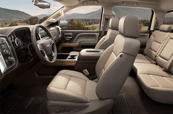 New 2020 Chevrolet Suburban Interior | Chevy silverado ...