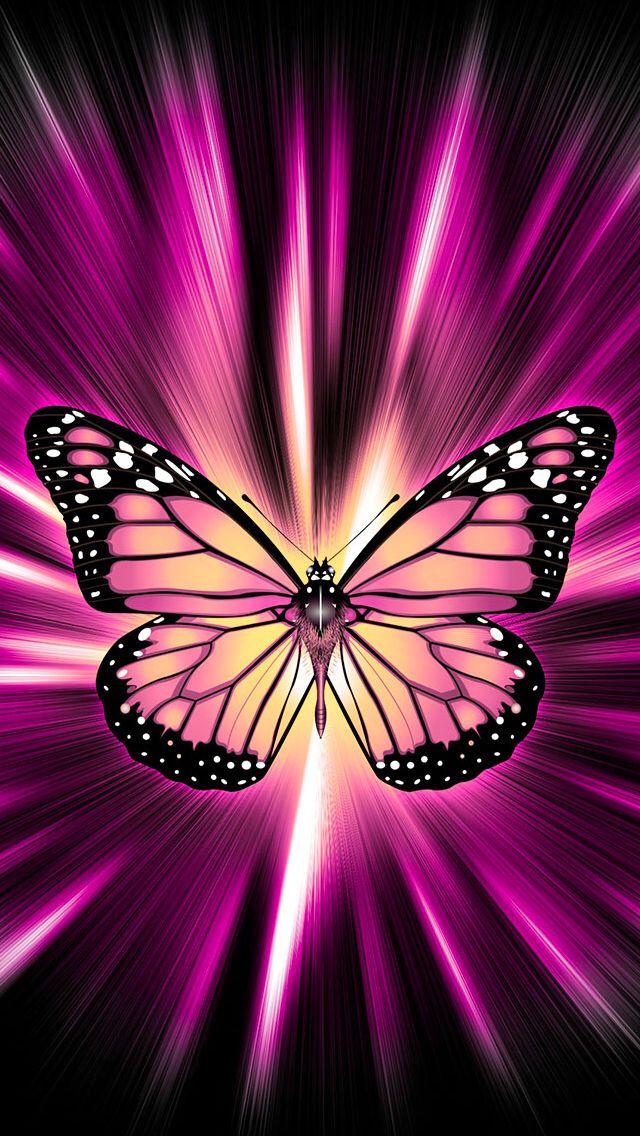 Wallpaper By Artist Unknown Butterfly Wallpaper Iphone Butterfly Wallpaper Beautiful Butterflies