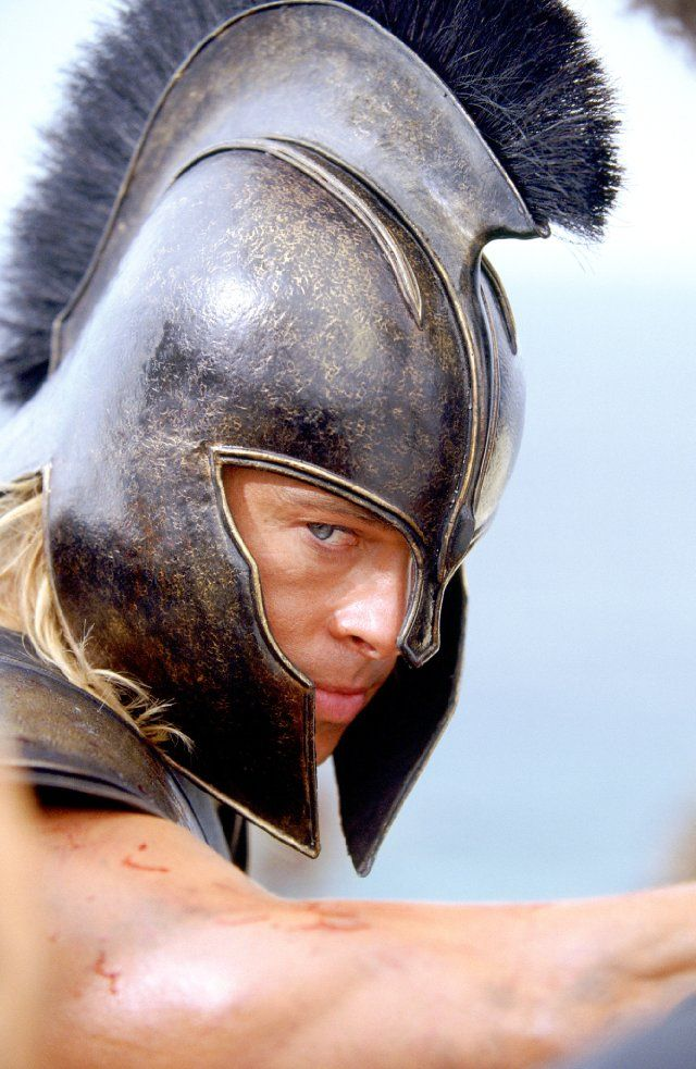 Brad Pitt in Troy..... epic success on every level :)