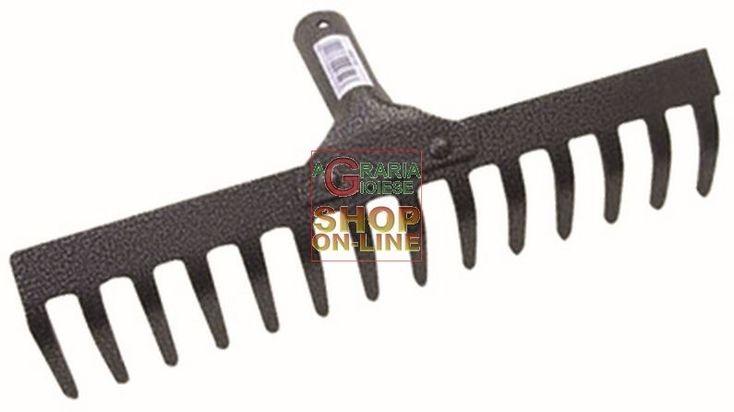 RASTRELLO IN FERRO VERNICIATO  8 DENTI SENZA MANICO http://www.decariashop.it/attrezzi-per-giardinaggio/13912-rastrello-in-ferro-verniciato-8-denti-senza-manico.html