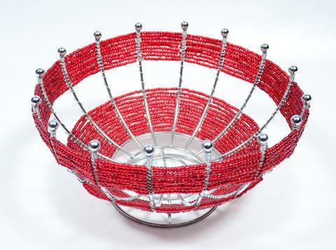 Beaded Fruit Bowl – zzambi.com