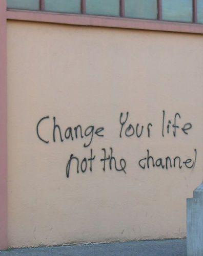 άλλαξε την ζωή σου όχι κανάλι