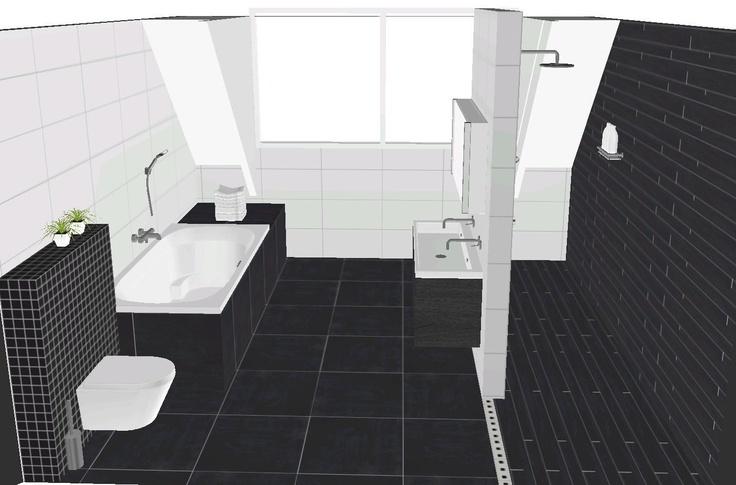 Indeling grote badkamer - Badkamer indeling ...