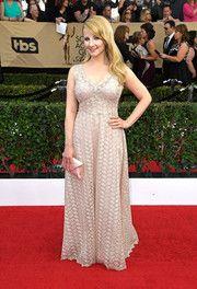 Melissa Rauch Lace Dress