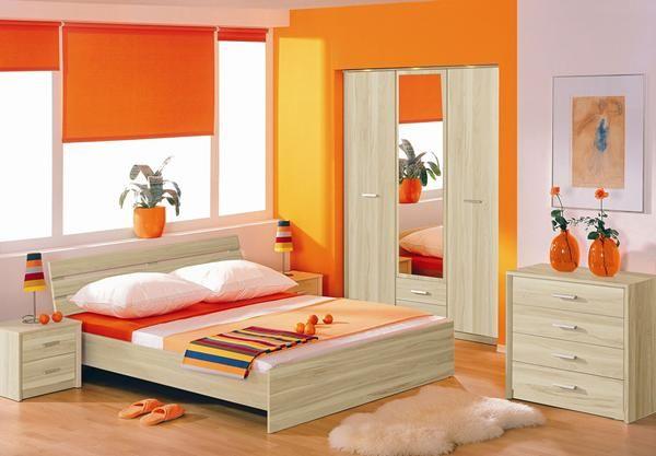 12 orange bedroom decoration ideas