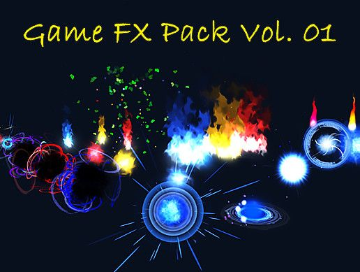 Ready to use FX pack for Unity 3D developers  Just drag and drop