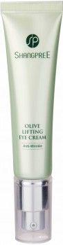 Оливковый крем для кожи вокруг глаз с эффектом лифтинга Shangpree Olive Lifting Eye Cream 30 мл (8809230146913)