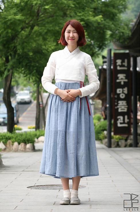 황이슬 인터뷰 - 리슬 LEESLE 신한복