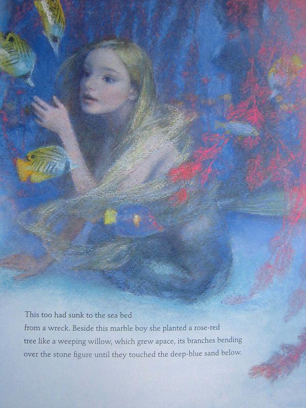 "kidpix: ""little mermaid""  illustrated by Christian Birmingham"