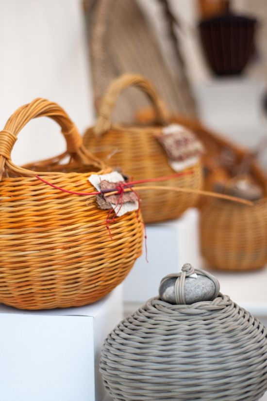 Contemporary Baskets by Sylvia Eisenbise Lehman