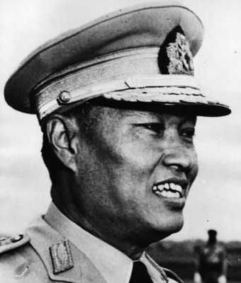 Ne Win was dictator of Burma from 1962-1982. He was very superstitious. He changed the currency to 15,30,45, and 90 – his lucky numbers. The entire Burmese nation lost their savings. He did this because he thought that he would live 90 years if he did this. He crossed bridges backwards, and once changed the nation's roads from left-way to right, because he was worried that his communist regime was leaning too far left. He apparently bathed in dolphin blood.