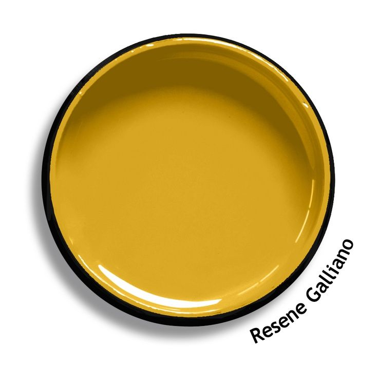 Resene Galliano - an intense, honey sweet yellow which works well with rich, natural greys | Poppy Bevan