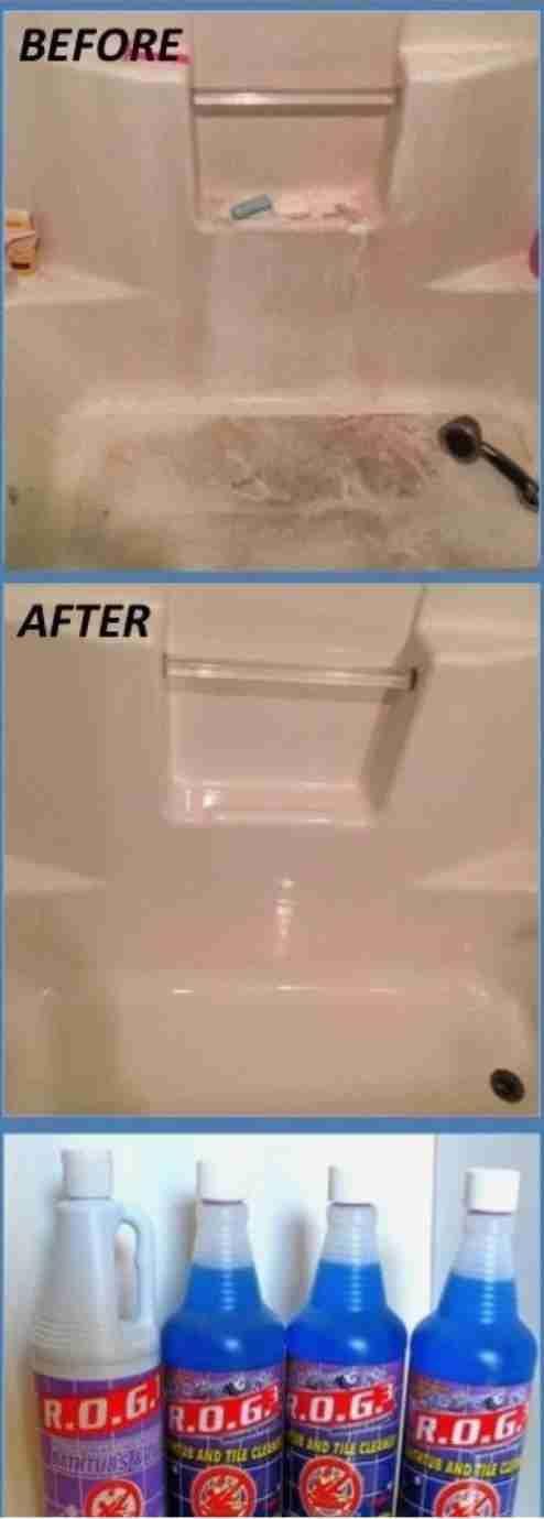 Best 25+ Bathtub cleaner ideas on Pinterest | Clean bathtub, Deep ...