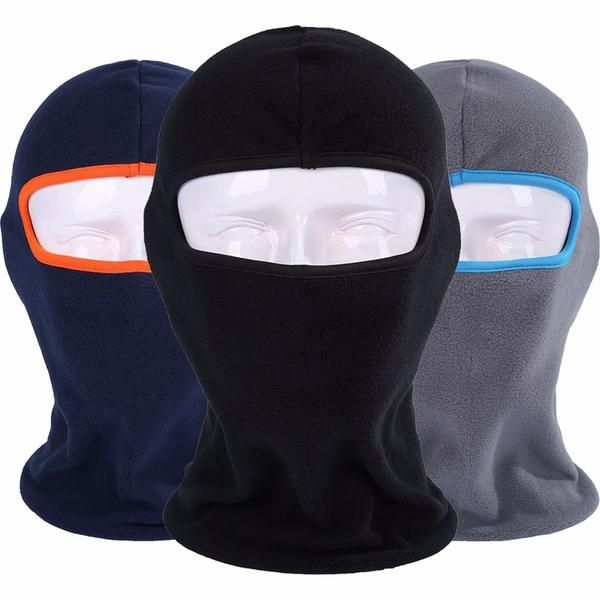 FuzWeb:Winter Breathable Warm Fleece Thermal Windproof Balaclava Motorcycle Combat Neck Full Face Mask Cap Helmets