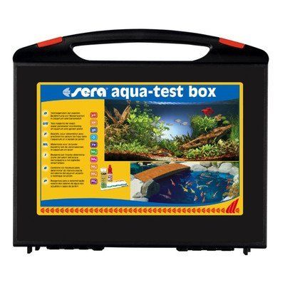 Sera Aqua-Test Box Freshwater Master Test KitOur Sera Aqua-Test Box Freshwater Master Test Kit is a professional set that consists of nine different water tests for aquarists and pond owners. This mas...