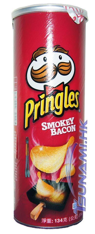 Pringles Smokey Bacon Special Limited Edition Potato Chips