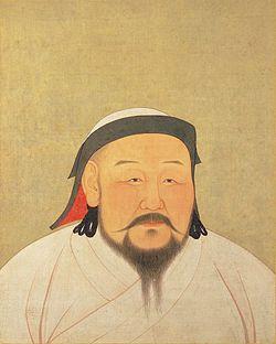 YuanEmperorAlbumKhubilaiPortrait.5 MAYIS 1260-Yuan Hanlığı döneminde Kubilay Han Hüküm süresi5 Mayıs 1260 – 18 Şubat 1294 Önce gelenMengü Han Sonra gelenTemür Olcaytu Han Tam adıMoğolca: Хубилай Сэцэн хаан Setsen Han (Цэцэн хаан) Doğum tarihi23 Eylül 1215 Ölüm tarihi18 Şubat 1294 (78 yaşında) Ölüm yeriHanbalık MezarıBurhan Haldun Dağı, Henti, Moğolistan EşiTegulen, Çabi, Nambuy HanedanYuan BabasıToluy AnnesiSorghaghtani Beki DiniTibet Budizmi