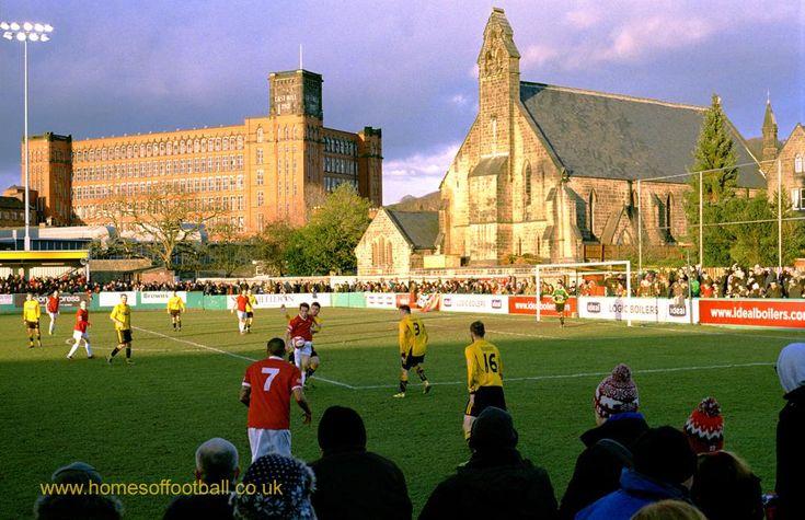 Three pillars of society #BelperTownFC v FC United of Manchester,England year2015 by Stuart Roy Clarke #Fcum #KickOff