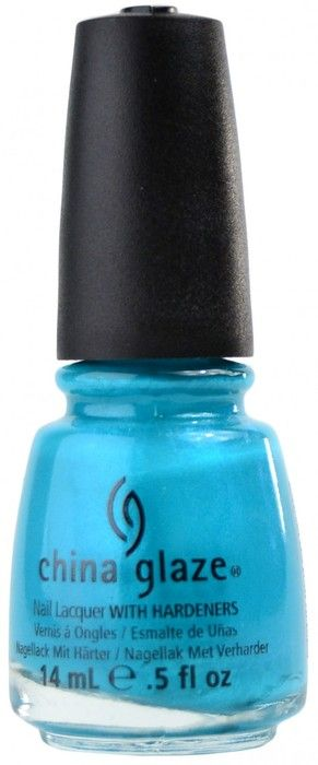 Turned Up Turquoise (Neon) by China Glaze