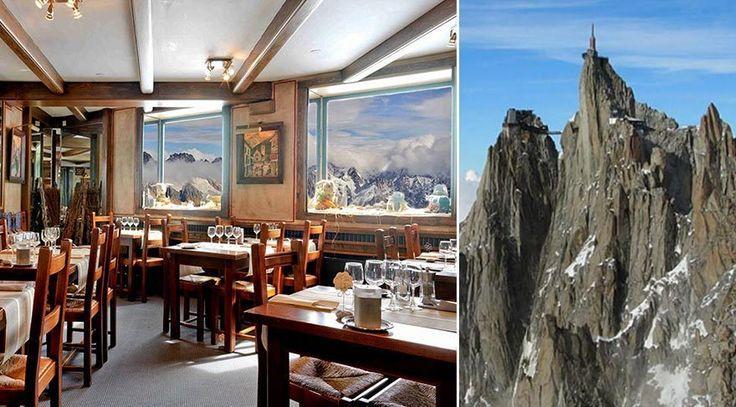 France - Aiguille Du Midi Restaurant (3842m)