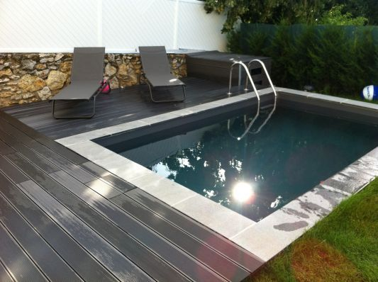 Micro piscine Irriblocs 3,95 x 2,5 : les photos de la piscine - ForumPiscine.com