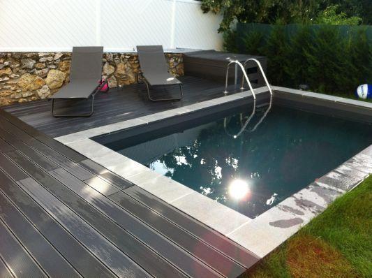 17 meilleures id es propos de petite piscine sur pinterest mini piscine piscine cach e et. Black Bedroom Furniture Sets. Home Design Ideas