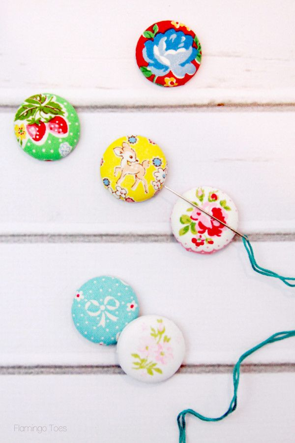 Cute Magnetic Needle Minders - another clever idea from Bev at Flamingo Toes