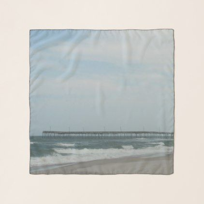 Pretty Day At The Beach Scarf - beach day nature fun sun holiday relax ocean sand