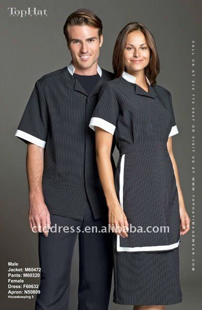 62 best images about uniform on pinterest florence hair for Spa housekeeping uniform