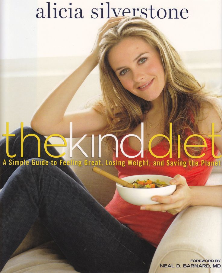 The Kind Diet: A Simple Guide to Feeling Great, Losing Weight, and Saving the Planet von Alicia Silverstone, Rodale Press 2009, ISBN-13: 978-1-605296449