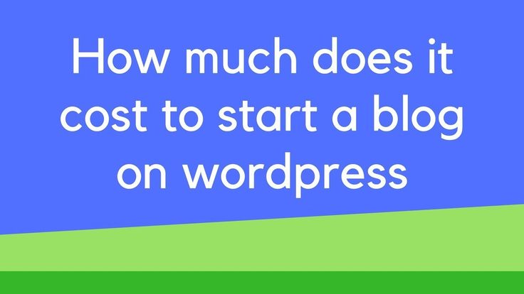 How much does it cost to start a blog on wordpress How much does it cost to start a blog on wordpress. If you want to know how much does it cost to start a blog check out this video.  Hostgator: http://ift.tt/2GXT5lu Bluehost: http://ift.tt/2FV6Pw4 Godaddy: http://ift.tt/2GVR9u0  For my blog post on how much does it cost to start a blog on WordPress : http://ift.tt/2FWEGox   Disclosure the links in the description are affiliate links which I may benefit from financially. However I do use all…