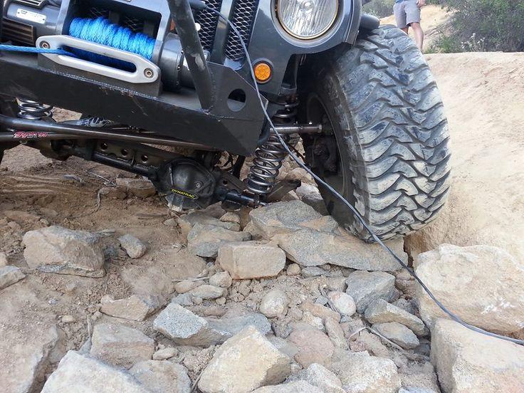 Broken Dynatrac Axle Housing Jeep Oops Jeep Jeep Fj