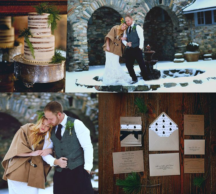 winter wonderland wedding south africa%0A Winter styled shoot with rustic and woodland elements  This beautiful  collage offers an inspirational winter wonderland wedding theme