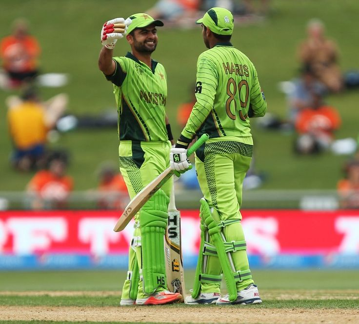 Ahmed Shehzad and Haris Sohail added 160 to take Pakistan to 300+ score that UAE could not reach!