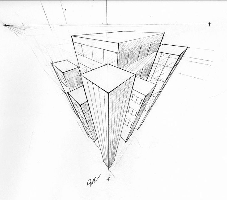 a42e9037bb654cafdaa1e48944f6d1a1 20 best images about perspective on pinterest city scapes, the on 3 point perspective template