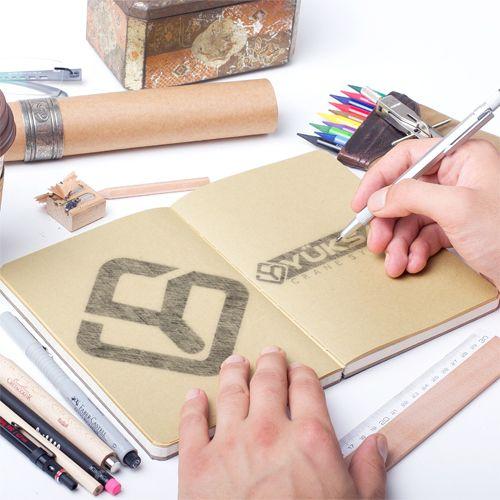 Yüksan Vinç - Logo Tasarımı - Logo Design - Eskiz - Sketch