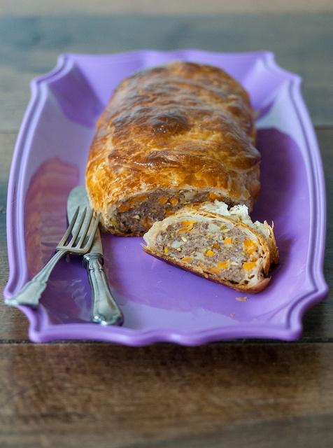 polpettone in crosta con verdurine #recipe       #juliesoissons