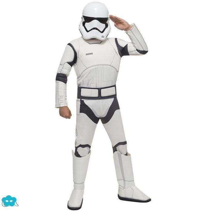 Disfraz de Stormtrooper Star Wars espisodio 7 para niño