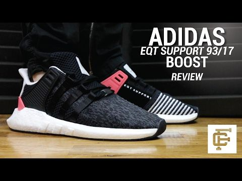 ADIDAS EQT SUPPORT 93/17 BOOST REVIEW - YouTube