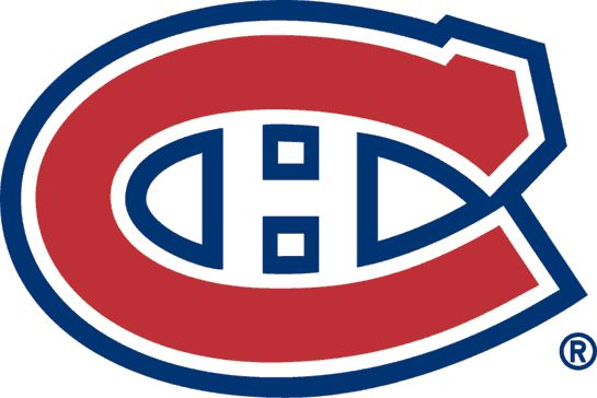 Montreal Canadiens Primary Logo (1957) - A red C outlined in white, and blue, with an H inside
