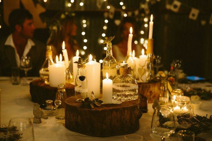 #wedding décor #table setting #wedding #DIY #rustic