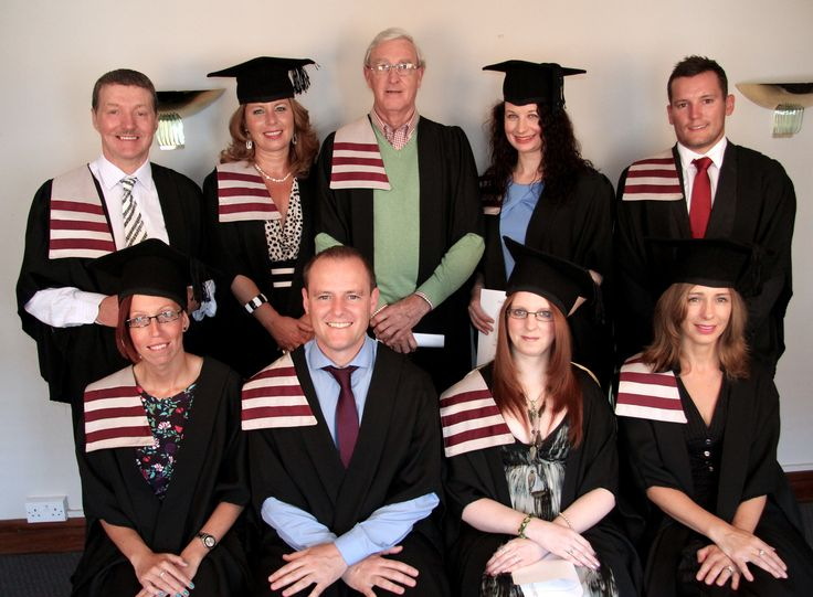 Some of our lovely graduates from various courses.