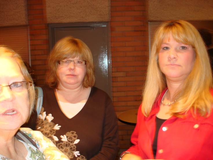 The 3 Sisters. Libby, Helen, and JoAnn at Nicki's nursing school graduation