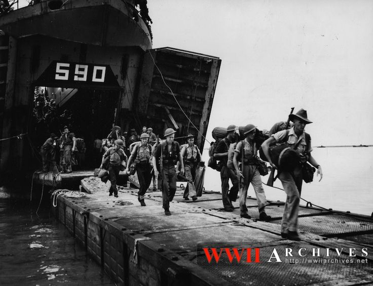 On the road to war, Aussie troops on the march again- safe journey for some of them. Tarakan not to be forgotton !!!