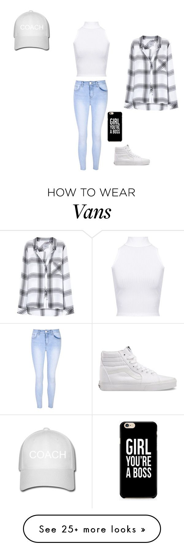 """""""#coach"""" by polyvorelover2233 on Polyvore featuring WearAll, Glamorous, Vans and Rails"""