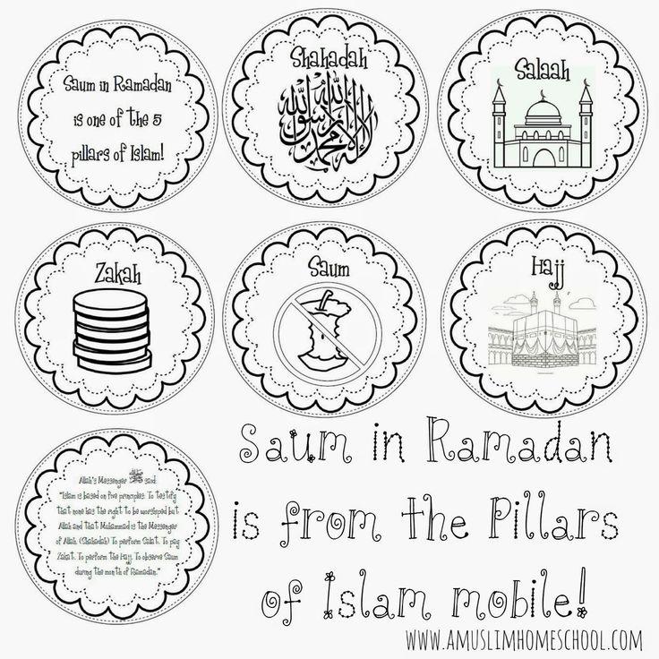 a muslim homeschool: Saum in Ramadan is one of the 5 pillars mobile