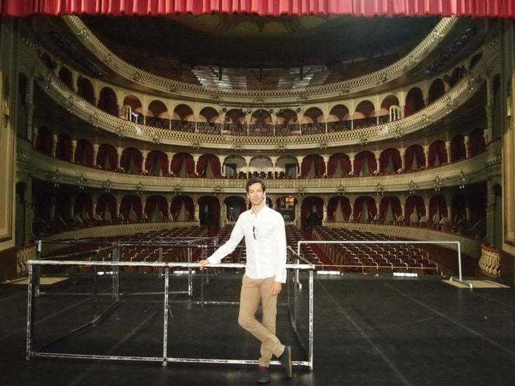 José Carlos Martínez en el Gran Teatro Falla