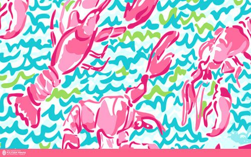 lilly pulitzer lobstah roll print | Lilly Pulitzer: Preppy ...
